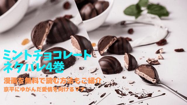 ミントチョコレート4巻ネタバレ